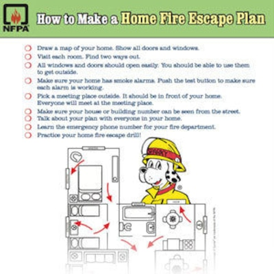 Knowing proper escape procedures and being alerted in time can help people survive fires in their homes. Approximately half of the people responding to a recent survey conducted by the National Fire Protection Agency, or NFPA, said their family had a fire escape plan, however only 16 percent said they had practiced it.