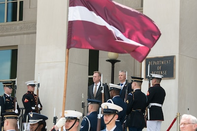 US, Latvia Reaffirm Relationship in Bilateral Meeting > US DEPARTMENT OF DEFENSE > Story - Department of Defense