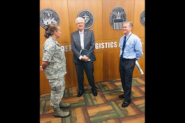 Former DLA Aviation director tours operations center