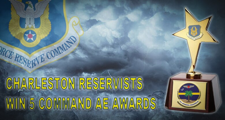 Charleston Reservists win 5 AFRC awards