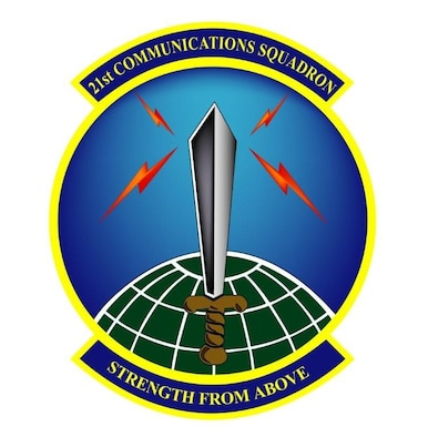 Patch for the 21st Communications located at Peterson Air Force Base, Colorado.