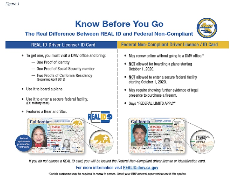 "Passed by Congress in 2005, the REAL ID Act enacted the 9/11 Commission's recommendation that the Federal Government ""set standards for the issuance of sources of identification, such as driver's licenses."" The Act established minimum security standards for state-issued driver's licenses (DL) and identification cards (ID) and prohibits Federal agencies from accepting licenses and identification cards for official purposes from states that do not meet these standards."