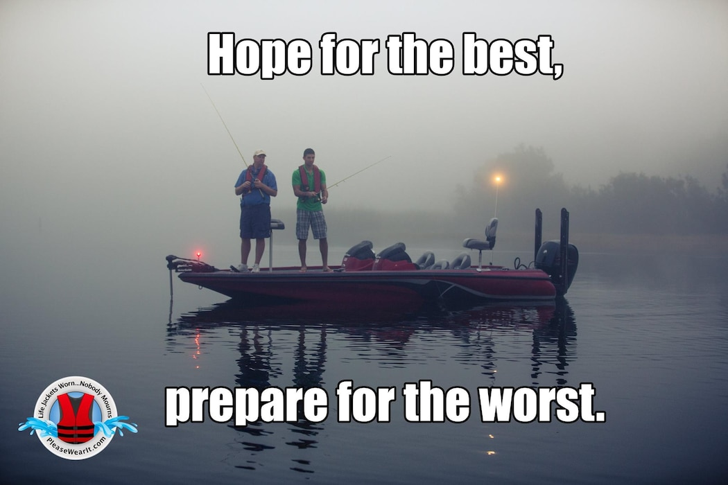 Hope for the best, prepare for the worst.