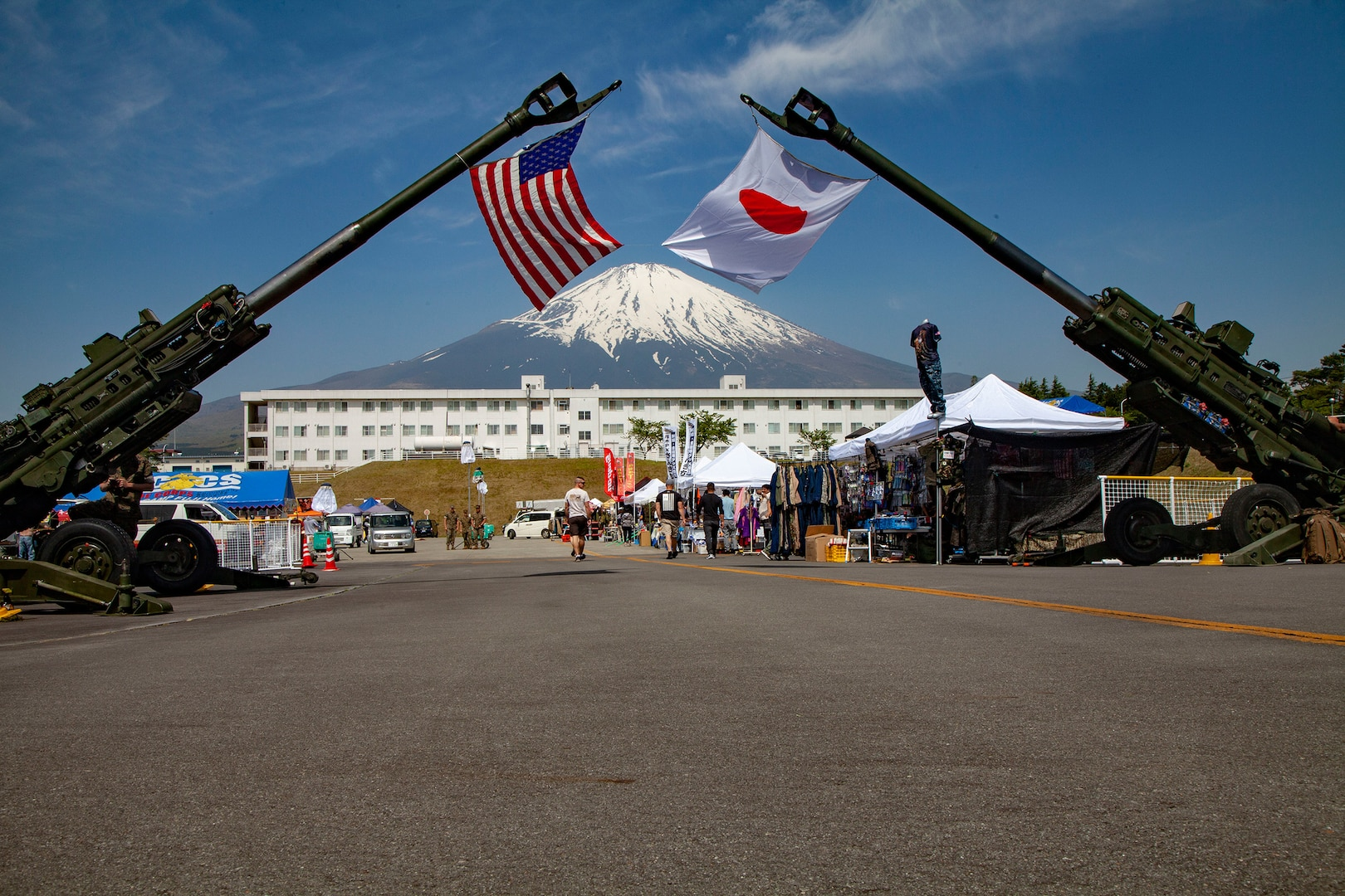 U.S., Combined Arms Training Center Camp Fuji Friendship Festival