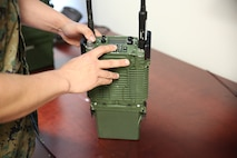 New radio system enables Marines to simultaneously monitor multiple networks