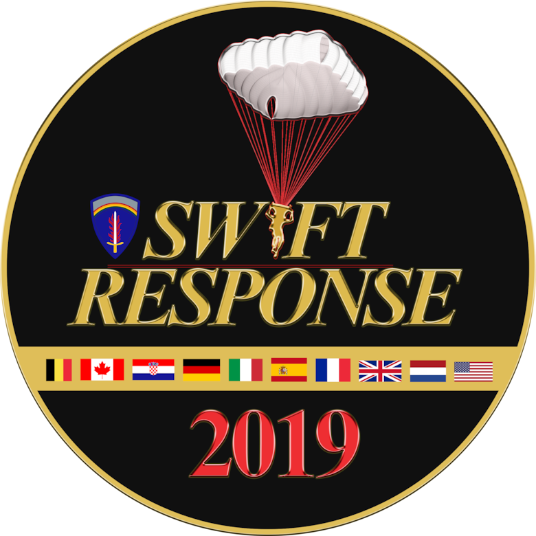 Swift Response 2019 Logo