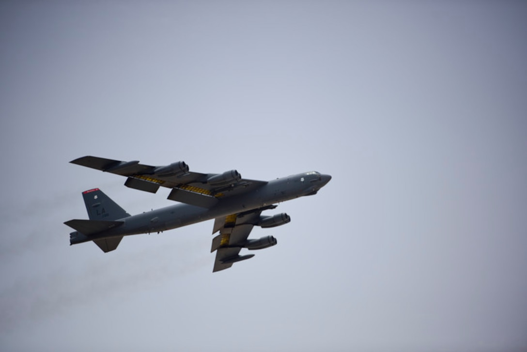 Bomber Task Force conducts first AOR mission