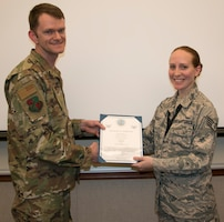 Stuckey Promoted to Technical Sergeant