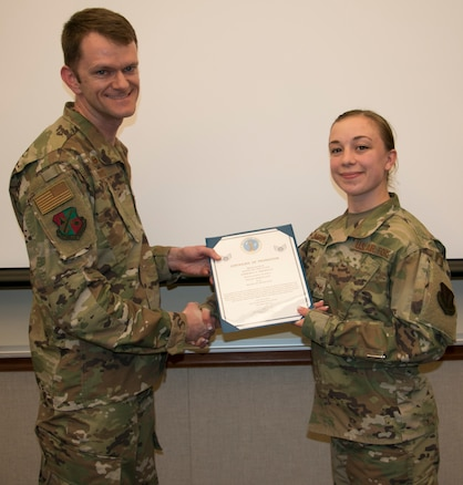 Sherman Promoted to Staff Sergeant