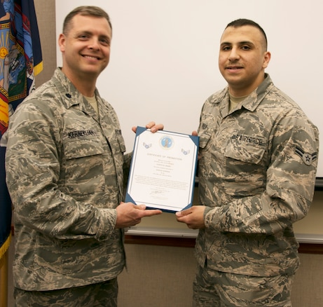 Marji Promoted to Senior Airman