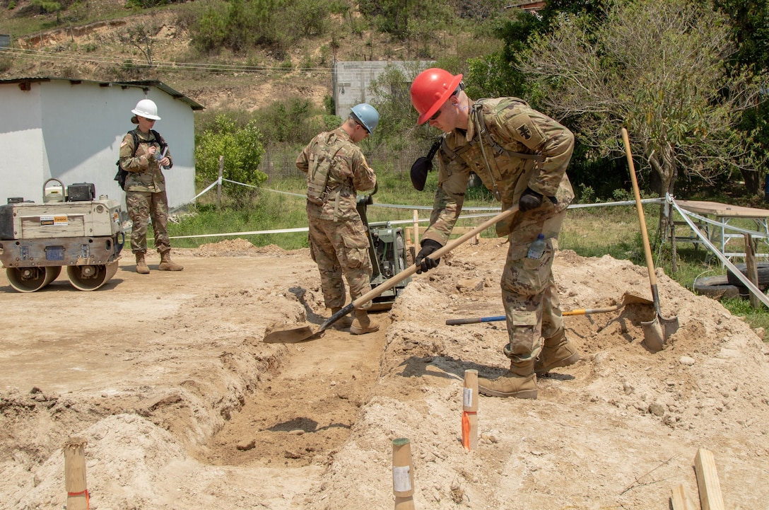 358th Engineer Company gains skills and builds relationships during exercise Beyond the Horizon 2019