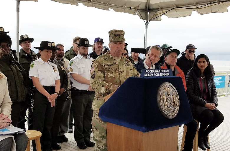 Army Corps Restores Portion of New York Beach