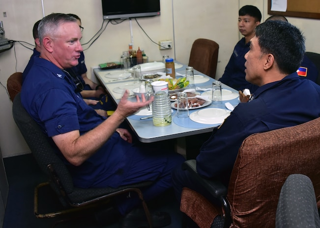 U.S., Philippine Coast Guards Conduct Joint Search and Rescue Exercise