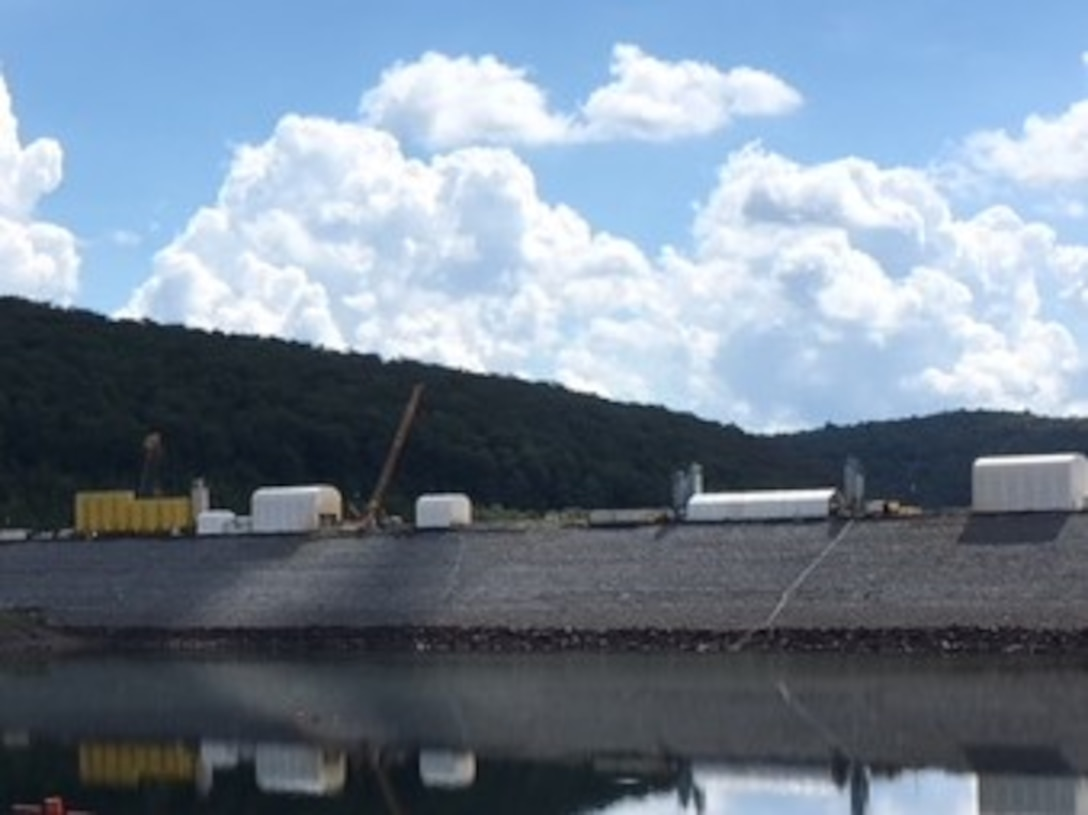 The Pittsburgh District is hosting a public tour of the East Branch Dam Safety Initiative to include the seepage cutoff wall construction site. The purpose is to provide the public an update on the construction progress and the opportunity to meet the project and lake staff and to see the integral features of work such as cutoff wall construction and monitoring devices.
