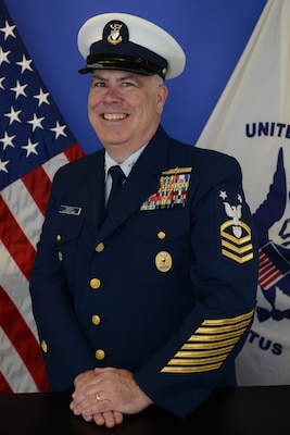 Photo of Command Master Chief Francis E. Gorman