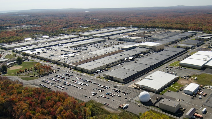Aerial Photo of Tobyhanna Army Depot