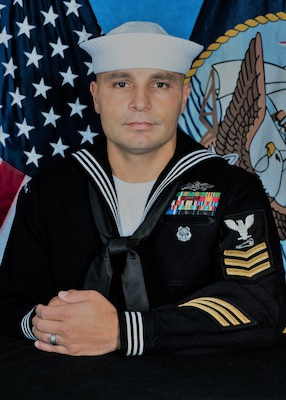 Commanding Officer Capt. Aaron Peters of the Naval Surface Warfare Center Panama City Division (NSWC PCD) selected Petty Officer First Class Joseph Rodriguez as Sailor of the Quarter, Second Quarter 2019.