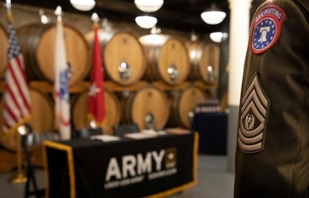 The Army and The Boston Beer Company recently entered into a partnership during a signing ceremony held during Army Week Boston. Thru the Partnership for Youth Success (PaYS) program, the ceremony recognized the intent of the company to strengthen its commitment to both veterans and its community.