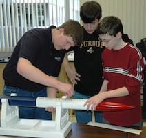 The National Museum of the U.S. Air Force will be hosting a team of students, grades 6-12, for the 2020 Team America Rocketry Challenge (TARC). Team meetings will be held from June of 2019 through May of 2020. (Photo from 2008 TARC Team).
