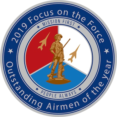 Official seal for the Air National Guard's 2019 Focus on the Force Week.