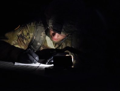night vision convoy training