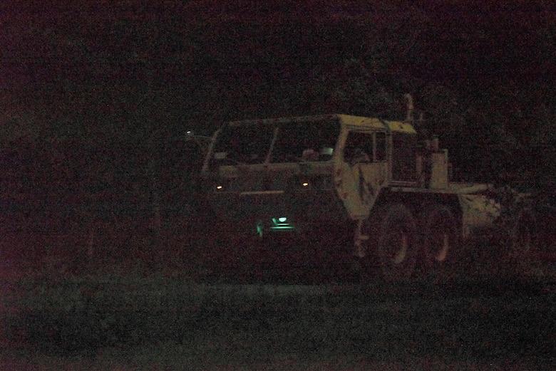 night vision convoy training