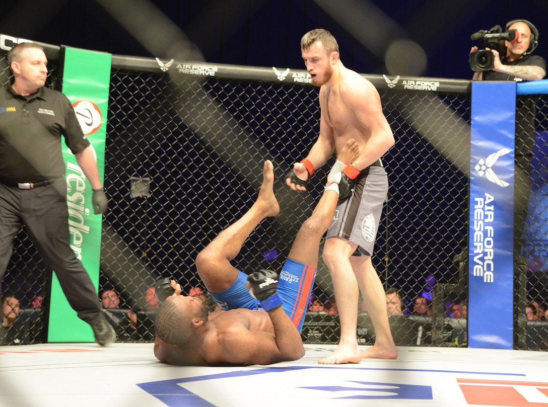 Air Force recruiting sponsorship with Professional Fighters League