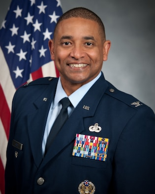 U.S. Air Force Colonel Jerime L. Reid, Maxwell Air Force Base 42nd Air Base Wing vice commander, official photo