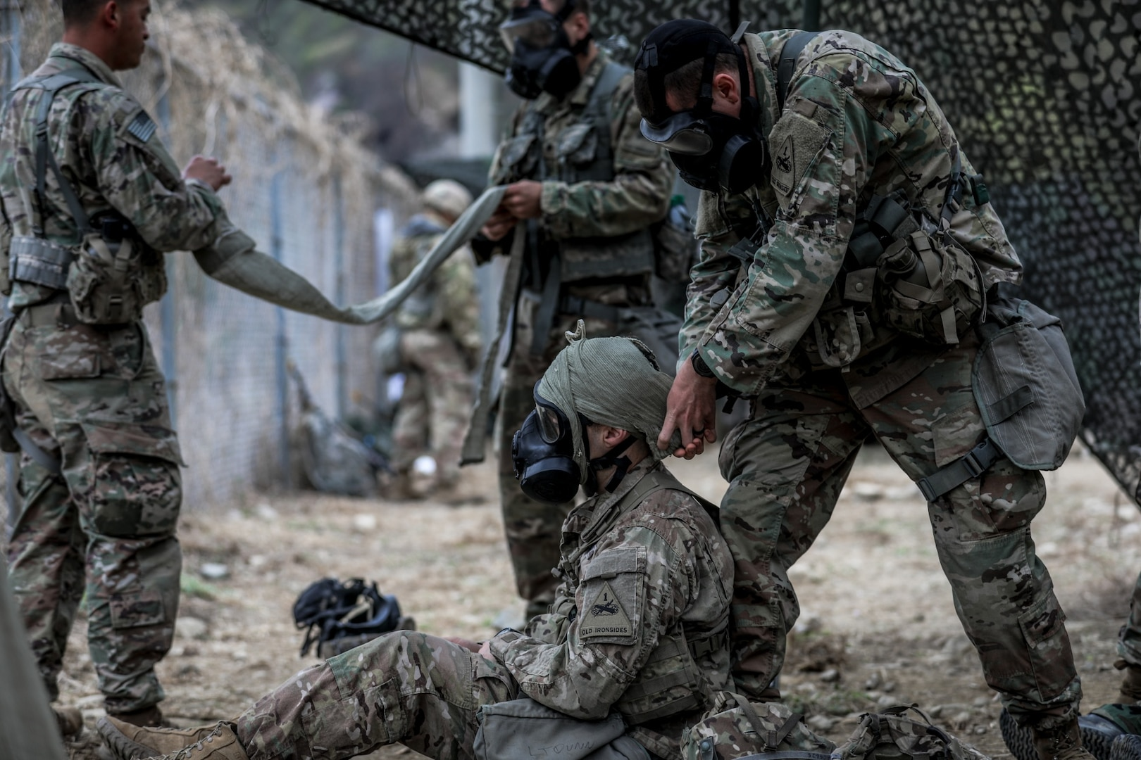 Bulldog Hosts Expert Infantryman Badge Qualification in the ROK