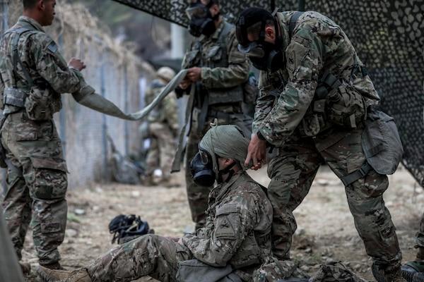 Bulldog Hosts Expert Infantryman Badge Qualification in the ROK