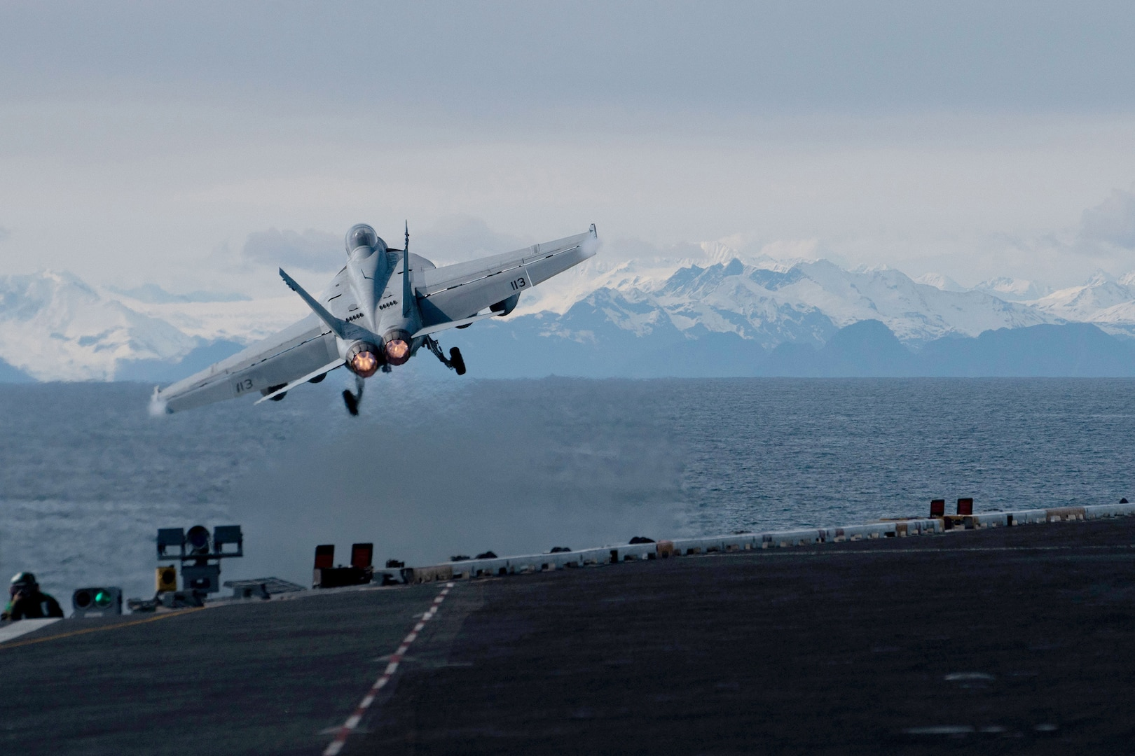 USS Theodore Roosevelt Participates in Exercise Northern Edge