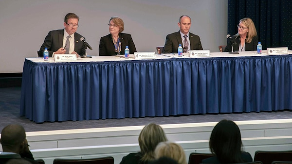 A panel of four Defense Logistics Agency subject matter experts discuss GS-14 road map for successful leadership.