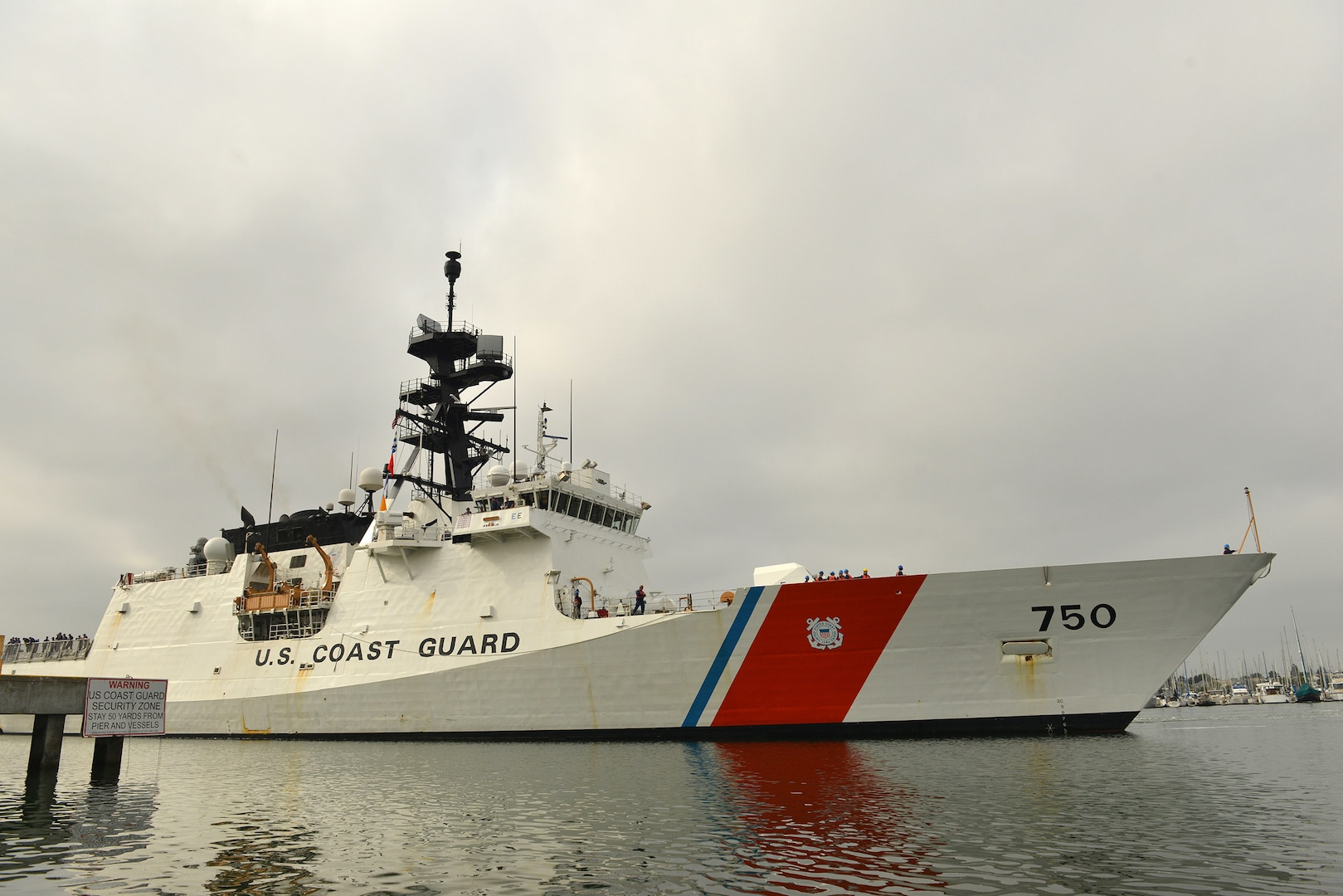 U.S. Coast Guard National Security Cutter Bertholf Visits Manila