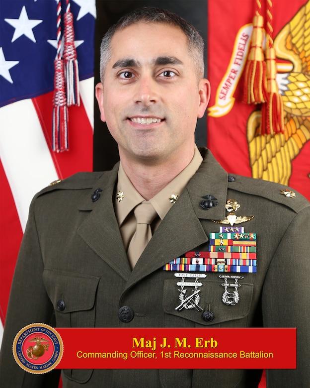 Maj. Erb bio