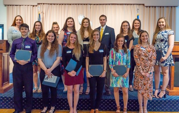 Hanscom Spouses Club presents scholarships
