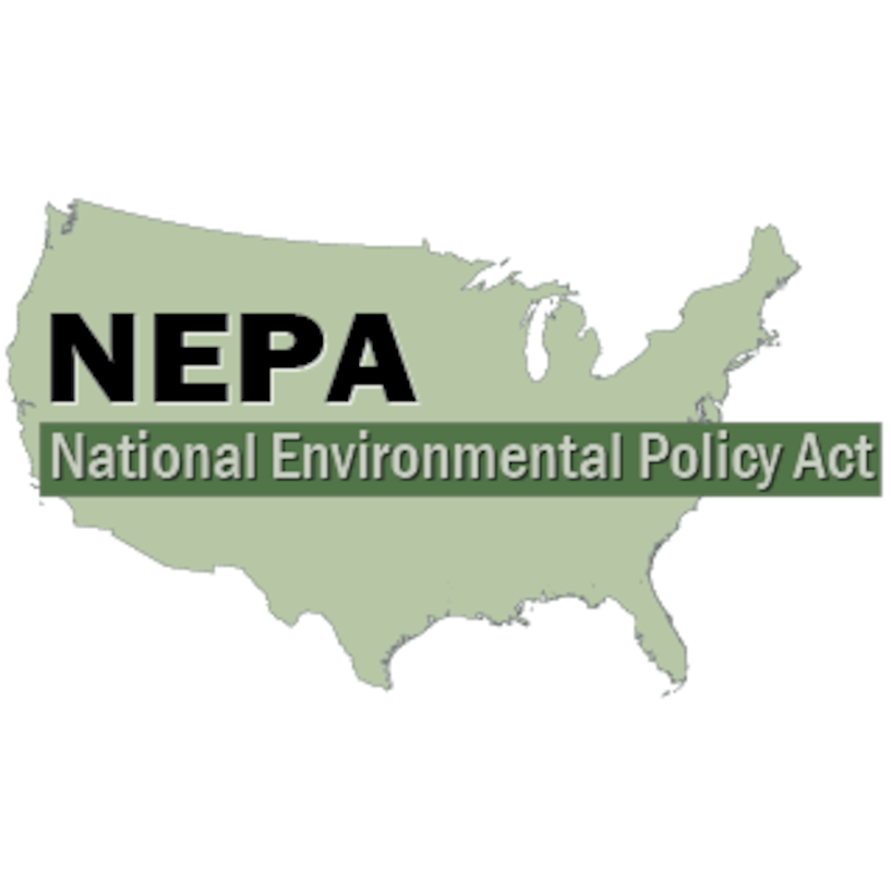 The National Environmental Policy Act of 1969 requires federal agencies, including USACE, to consider the potential environmental impacts of their proposed actions and any reasonable alternatives before undertaking a major federal action.
