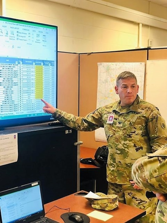 4th ESC Soldiers support Vibrant Response