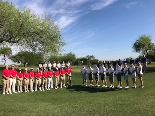 Top golfers from around the Armed Forces converged at the Falcon Dunes Golf Course aboard Luke Air Force Base, Arizona for the 2019 Armed Forces Golf Championship from May 15-18.