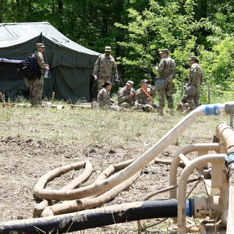 288th QM provides water for the force
