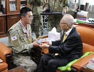 121st Combat Support Hospital KATUSA Wins Gen. Paik Sun-yup Leadership Award