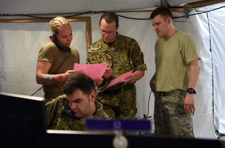 Blue Flag 19-1 exercises Ninth AF's command, control capability