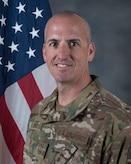 An official photo of CMSgt. David A. Flosi