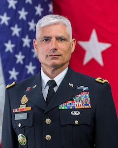 Official bio photo of Maj. Gen. Rafael A. Ribas.