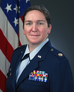 Maj. Michelle L. Baxter, 60th Logistics Readiness Squadron commander, shares some thoughts on leadership and the mentality every Airman should bring. (Courtesy Photo)