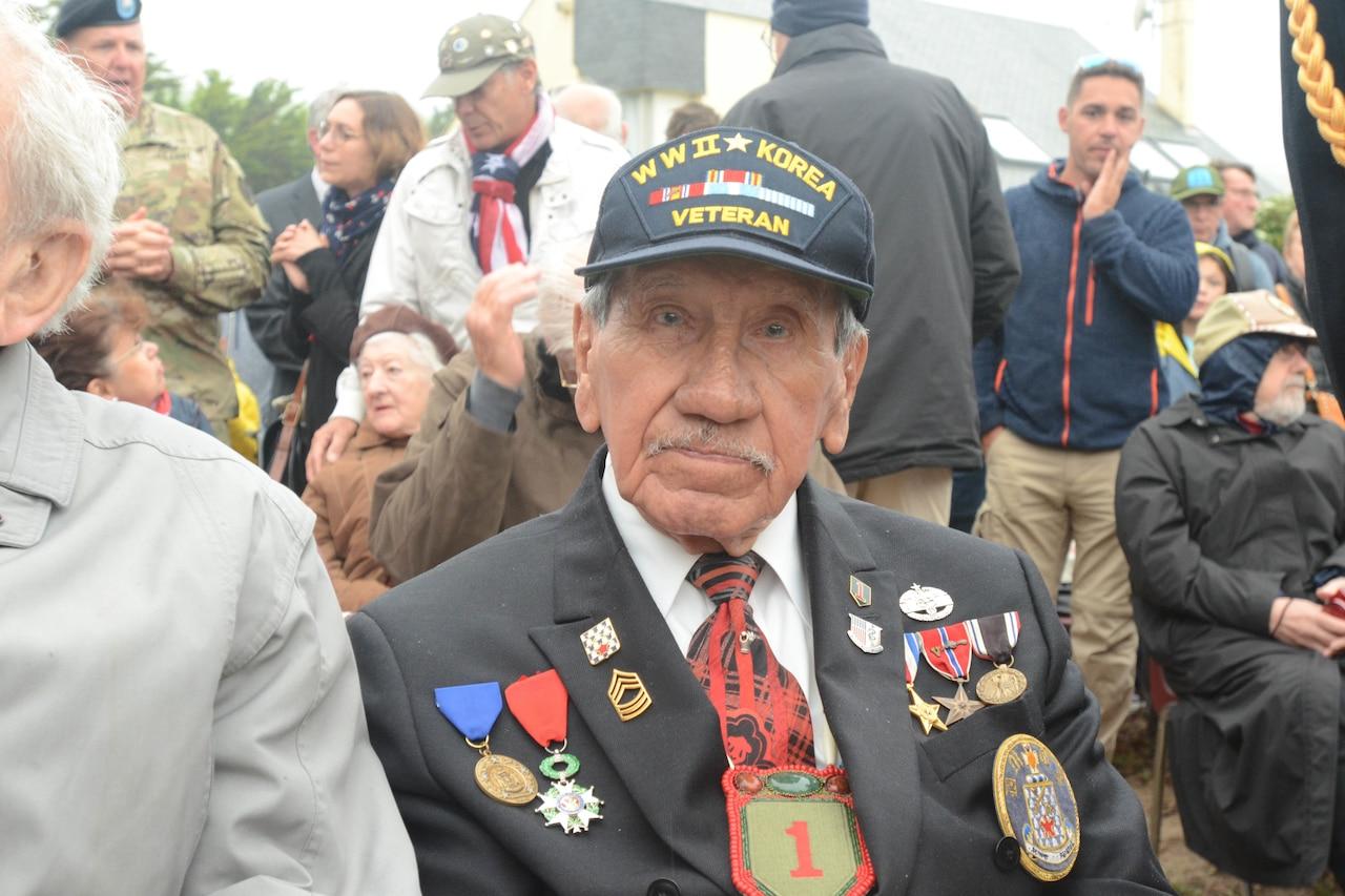 WWII veteran Charles Shay