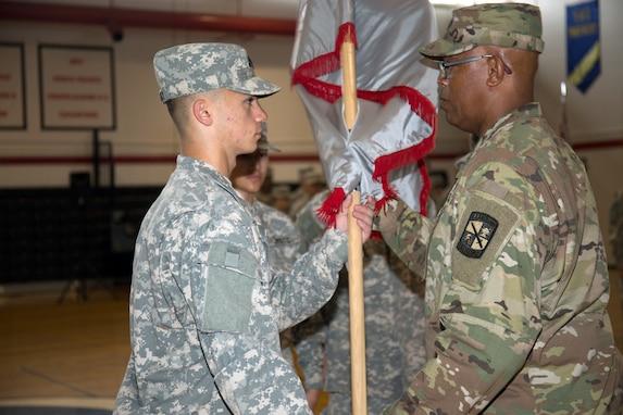 Camp Zama's JROTC Battalion Welcomes New Cadet Commander