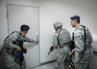 Airmen Exercise Readiness in Beverly Morning 19-01
