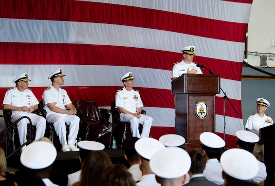 Amphibious Force 7th Fleet Holds Change of Command