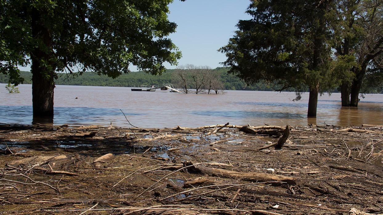 Floodwater Debris