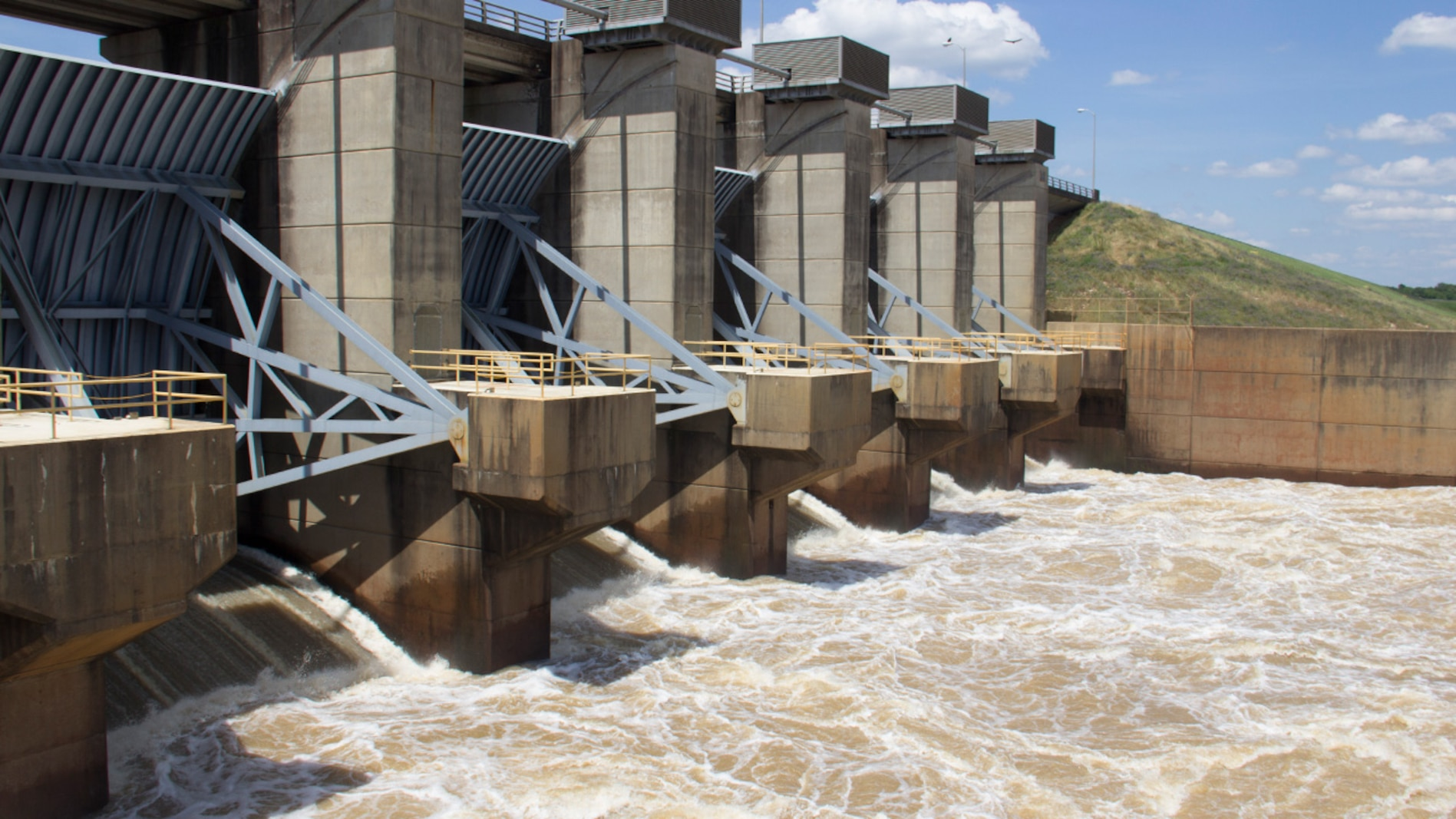 Hugo Dam Floodwater Releases